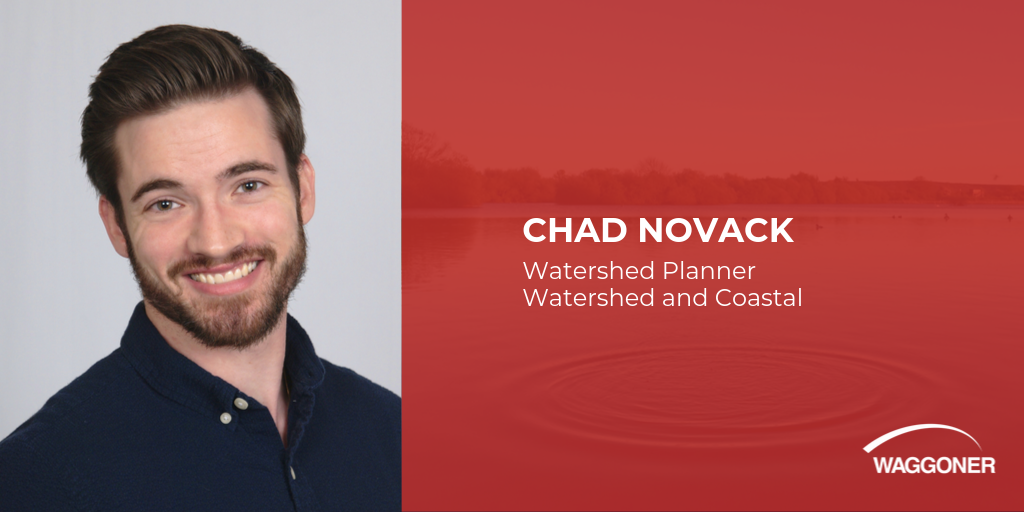 Chad Novack joins Waggoner as Watershed Planner