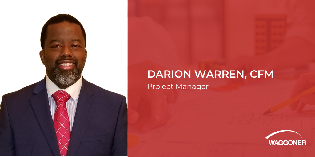 Darion Warren joins Waggoner as Project Manager