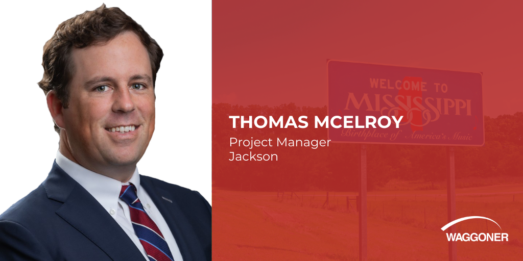 Waggoner hires Thomas McElroy as a Project Manager
