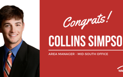 Collins Simpson promoted to Area Manager