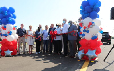 Ribbon Cutting held for Lake Harbour Drive Project