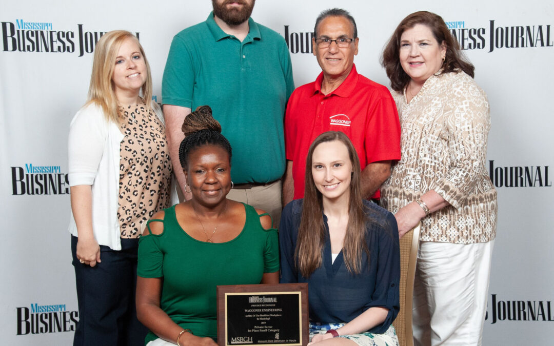 Waggoner Named One of Mississippi's Healthiest Workplaces